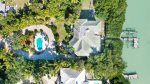 Aerial View Of Home And Private Pool