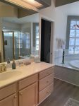 Make-up Area in Master Bath