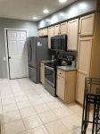 Kitchen with brand new appliances