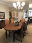 Dining Table and seating for 6