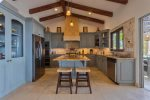 Casa Juan Miguel kitchen with high end appliances
