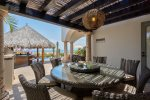 Casa Juan Miguel outdoor dining area with easy kitchen access and great views