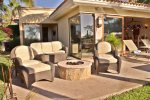 Casa Tortuga Firepit with sitting area