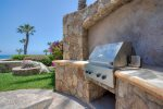 Pool side out door grill