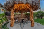 Beautiful palapa. The perfect shaded place to have your coffee or watch the children play in the pool