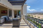 Feel ocean breeze at comfy terrace located off of the master and living area with great mountain & ocean views
