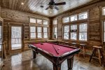 Main Floor Billiard Room