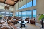 Incredible views from comfortable main living area.