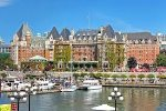 The Fairmont Empress at the Inner Harbour
