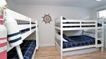 Bunk House- sleeps 6. Two extra twin mattresses under bunk beds