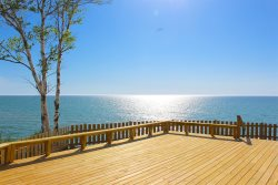 First Time Available - On Lake Michigan near Silver Lake Sand Dunes. Stunning!