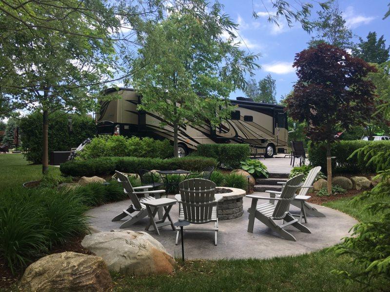 Hearthside Grove Luxury Motorcoach Resort Lot 38
