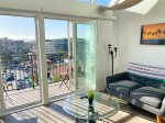 Little Italy Loft w/ Sky Windows, Amazing Marina View + Parking - 302