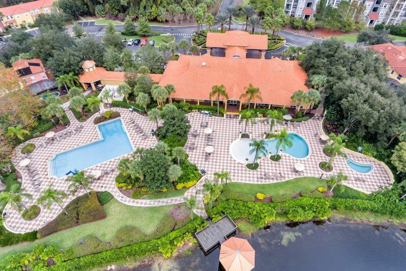 Private Pool Townhome At Encantada Resort Tropical Villas Orlando
