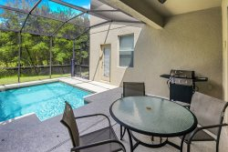 Contemporary 5 Bed 5 Bath Single Family With Upgrades, Private Pool in Gorgeous Paradise Palms Resort, Close to Disney, Shopping