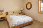 Living Room with a Gas Fireplace and TV