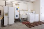 Guest Bedroom with Twin Bunk Bed with Twin Bed and Twin Trundle