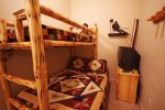 Open Den with Bunk Bed