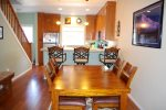 Dining Room Table with Breakfast Bar