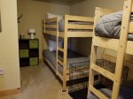 Private Den with Two Twin Bunk Beds