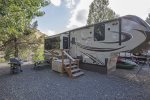 Lake Simtustus-D23: RV Rental- Grand Design Solitude 34ft