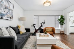 Luxury Contemporary Apartment With Peloton Bike