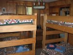 Bedroom 3 with 2 sets of twin bunk beds