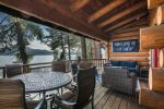 Enjoy the views of Lake Pend Oreille sunrise to sunset.