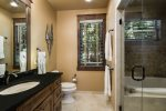 King bathroom in guest house