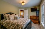 Guest house has separate bedroom with Queen bed, and twin in attached walk in w/window.