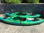 Add one or more kayaks to your stay.  Delivered to your home.