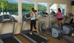 Fitness club at Dover Bay is another amenity option