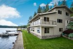 Additional oven and warming drawer in butler`s pantry off kitchen.