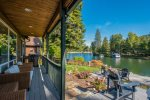 Large grass yard, decks, fire pit, hot tub, beach, private dock - everything you need