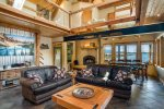 Gorgeous timber-beamed waterfront home.  Sleeps 16