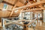 The wood work, beams and cedar in this home is fantastic.