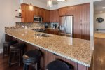 Granite countertops with new appliances