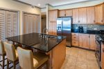 Kitchen is fully appointed with top appliances and all the cooking / entertaining items you need.
