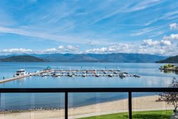 Elegant Waterfront Condo | Seasons at Sandpoint | Downtown | Four Free Bikes!