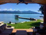 NEW to Luxury Vacation Rentals  Flat, private waterfront custom home.