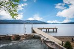 Incredible private bay on Lake Pend Oreille.