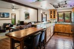 Artistic custom eco-friendly home in the heart of downtown Sandpoint.