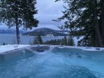 Relax in this incredible hot tub while enjoying the spectacular view.