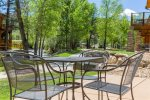 Dog-friendly, riverside condo. 5-minute stroll to downtown Estes Park shopping and dining.