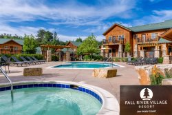 Neighboring pool & hot tubs. Spacious kitchen. Ground level.