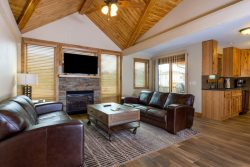 Dog-friendly. Rocky Mountain view. Conjoining luxury townhome.