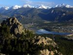 View of Lake Estes from Above