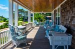 Enjoy the views from the wrap around porch