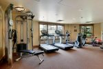 Main Lodge Work Out Room Access