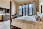 Master Bedroom with King Size Bed, Amazing Mountains Views